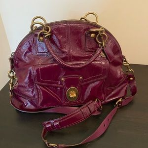 Oversized Patton Leather Coach Handbag
